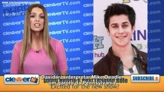 ClevverTV fala sobre David Henrie na série The Assistants [Legendado] [HD]