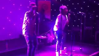 Emtee and saudi perform live on metro fm 2017. Must watch!!!