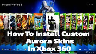 How to install aurora skins in xbox 360 videos / InfiniTube
