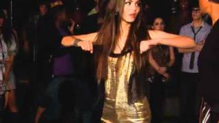 Victoria Justice - Behind the scenes of  Freak The Freak Out Music Video