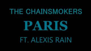 The Chainsmokers - Paris Karaoke