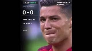 Golo de Eder com Relato! Portugal 1-0 França