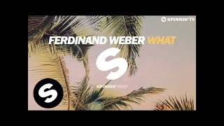 Ferdinand Weber - What (Radio Edit)