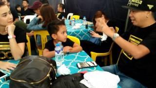 Jeffrey Tam magic with Yassie Pressman and Pakito
