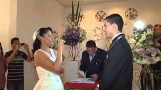 Noiva Cantando Que bom que você chegou (Adriane e Darly)