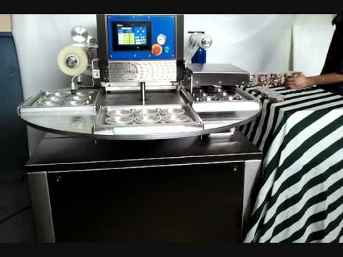 ZINISAN Elephant RTP-800 Rotary Table Vacuum Packing Machine