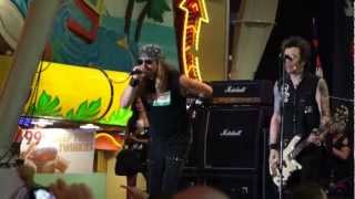 Skid Row with Johnny Solinger - Riot Act - Live at Fremont Street, Las Vegas 2012