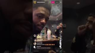 Metro Boomin freestyles on IG Live