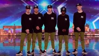 Britain's Got Talent 2016 S10E07 Total TXS Hip Hop Dance Crew Full Audition