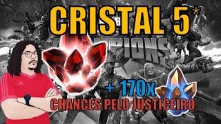 Abertura de Cristal 5* + 170x Cristais de Arena - Marvel Torneio de Campeões   Contest of Champions