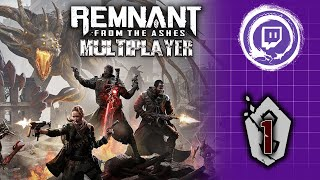 Online Couch Co-op! | Remnant: From the Ashes 1 | Stream Four Star