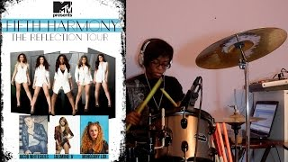 Uptown Funk - Fifth Harmony, Jasmine V , Jacob Whitesides & Mahogany Lox (Drum Cover)