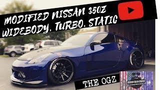 Nissan 350z turbo widebody riding static slammed Import Alliance HD 1080p