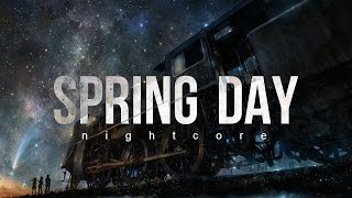 BTS - Spring Day (Nightcore)