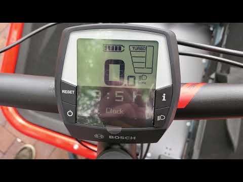 Bosch Intuvia E-bike Display Walkthrough