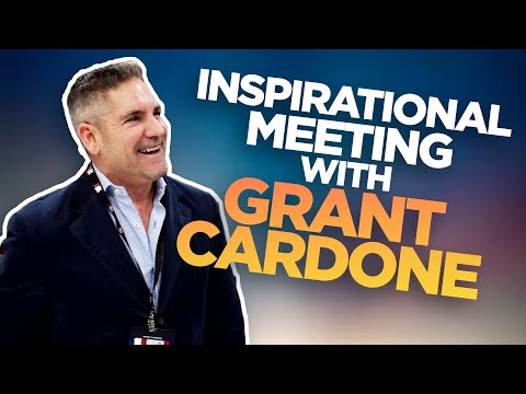 Inspirational Meeting with Grant Cardone photo