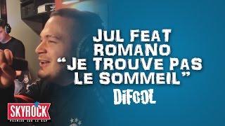 """Jul feat. Romano """"Je trouve pas le sommeil"""" en live #LaRadioLibre"""