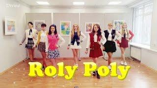 T-ara (티아라) - Roly Poly (롤리폴리) dance cover by Divine