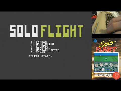 Solo flight c64 juegos epicos