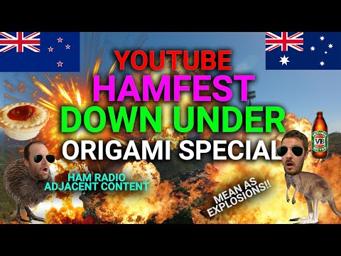 Ham Radio Origami Special - Youtubers Hamfest 2021 #YTHF21