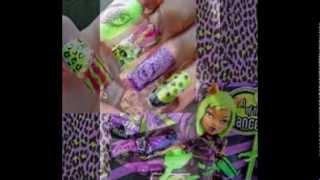 Monster high nail art & verni
