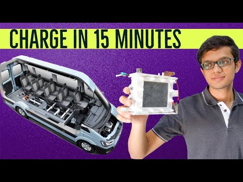 Charge in 15 Minutes Battery Technology - Log9Materials