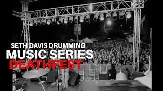 Seth Davis Drumming: Maryland Death Fest (Exhorder 2011)