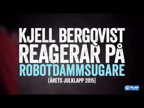 Kjell Bergqvist reagerar på Årets julklapp 2015 - Robotdammsugare