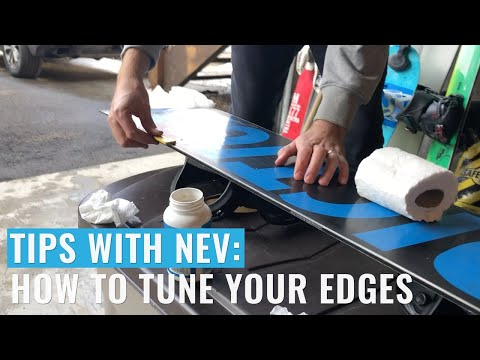How To Tune The Edges Of Your Snowboard