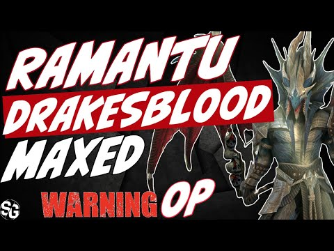 Ramantu MAXED gameplay. Raid's most OP champ? RAID SHADOW LEGENDS
