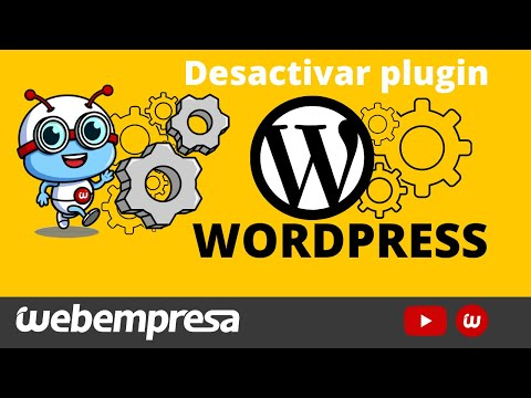 💣 DESACTIVAR plugin en WordPress SIN TOCAR Base de Datos por ⇒ WordPress, FTP, phpMyAdmin o WPCenter