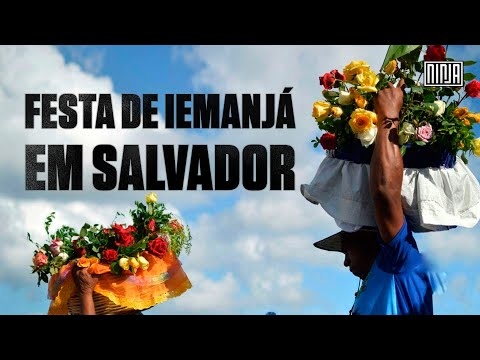Multidão festeja Iemanjá neste 02 de Fevereiro em Salvador!