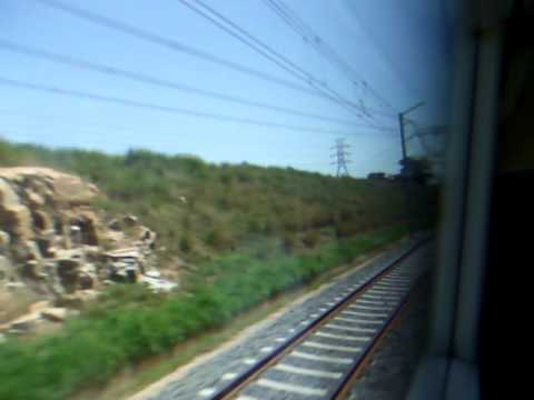 A short trip on the nearly completed Gautrain – Johannesburg South Africa