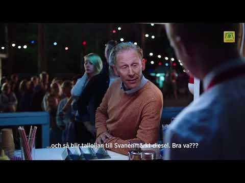 Preem Gunde Svan Reklamfilm Dansen 45s textad
