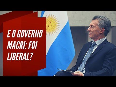 E o Governo Macri, foi liberal?