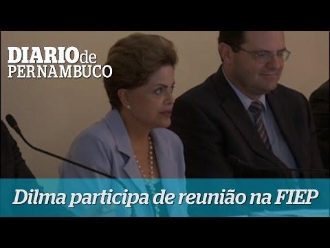 Dilma faz reuni�o com empres�rios na FIEP