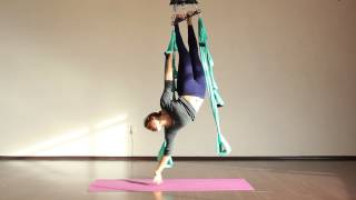 Aerial Yoga Dance Montage to Sia´s Chandelier