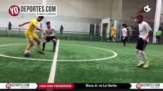 Boca Jr vs. La Garita Champions de los Martes Liga San Francisco