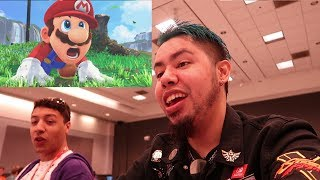 SUPER MARIO ODYSSEY E3 TRAILER REACTION!!!