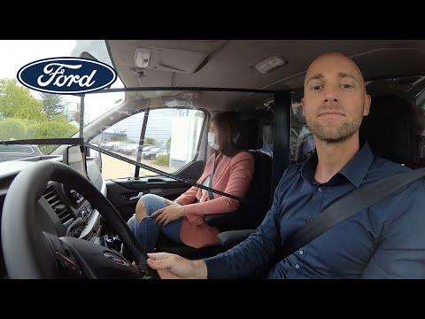 Neue Schutzschilde für soziale Distanzierung in der Kabine | Ford Schweiz