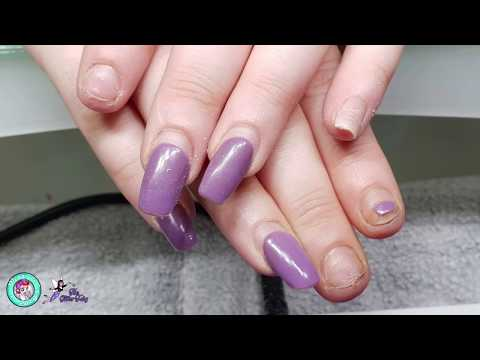 NSS Explanation and Transformation - Short Square Acrylic Ombre / Boomer Nails