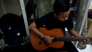 Cover Bass ala gitar AFRI AULIA VILO - instrument WARKOP Dono, kasino, indro
