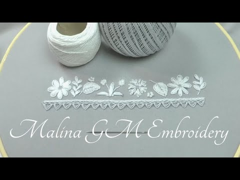 Easy Stitches | Embroidery for beginners | Вышивка для начинающих : Легкие стежки