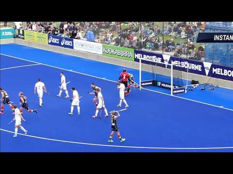 Austalia 3 New Zealand 1 Final Mens hockey. Melbourne 2016