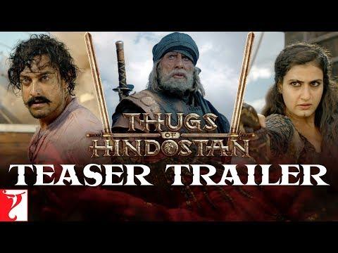 Thugs Of Hindostan | Teaser Trailer | Amitabh Bachchan, Aamir Khan, Katrina, Fatima