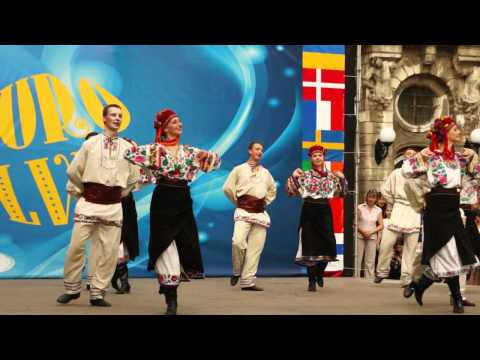 Folk Dance Ensemble di Ucraina Lviv