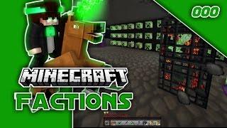 Minecraft Factions // Late Night Raid On Hybrid! Episode #007