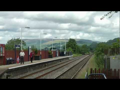 LNER A4 60009 Union of South Africa   Loaded Test Run 18 July 2012