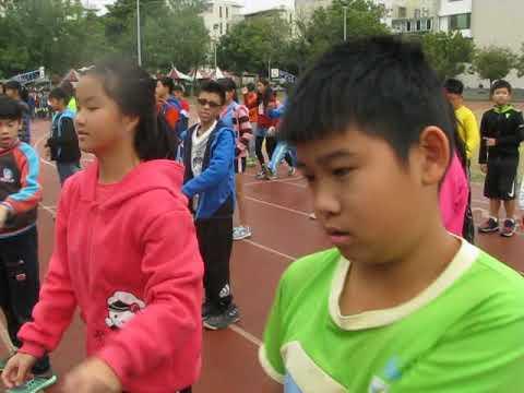臺南市東區裕文國小1061208運動會第二次預演進場舞 - YouTube