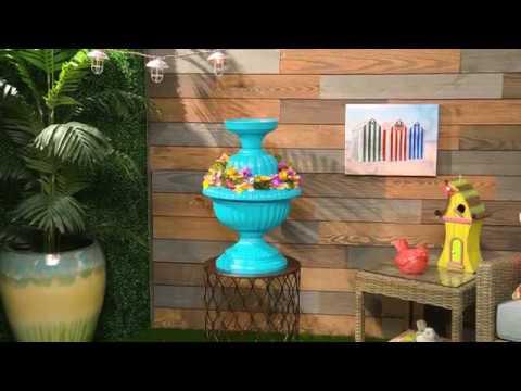 Chirp-Worthy Idea! | DIY Planter Birdbath